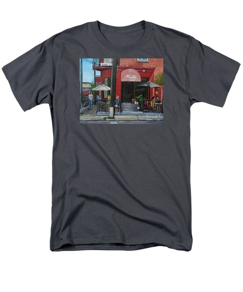 Bistro Piquillo In Verdun T-Shirt by Reb Frost
