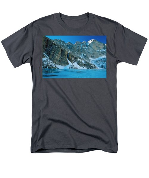 Blue Chasm T-Shirt by Eric Glaser