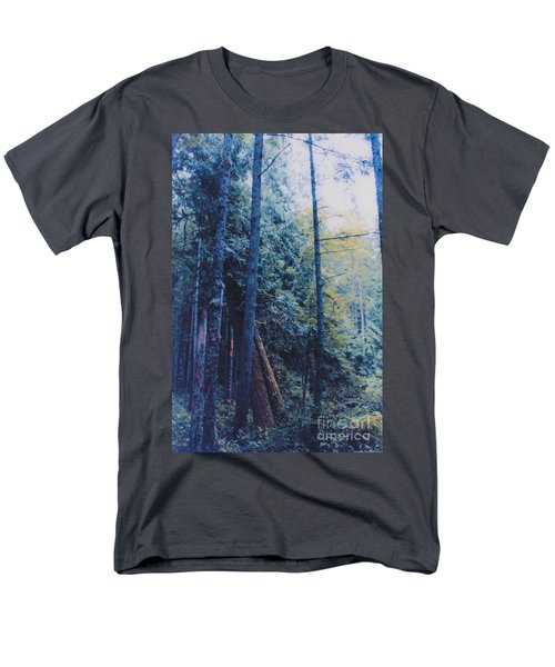 Blue Forest by jrr T-Shirt by First Star Art