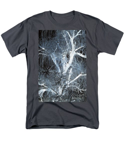Blue Snow T-Shirt by Kathleen Struckle