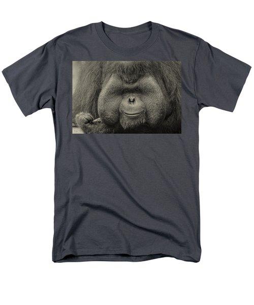 Bornean Orangutan II Men's T-Shirt  (Regular Fit) by Lourry Legarde