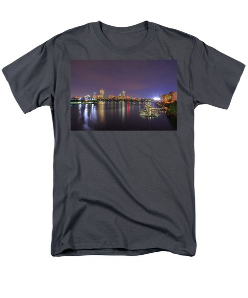 Boston Harbor Skyline T-Shirt by Joann Vitali