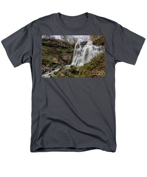 Brandywine Falls Men's T-Shirt  (Regular Fit) by James Dean