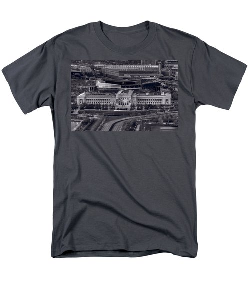 Chicago Icons Bw Men's T-Shirt  (Regular Fit) by Steve Gadomski