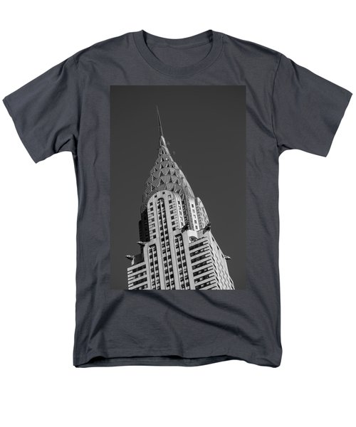 Chrysler Building Bw Men's T-Shirt  (Regular Fit) by Susan Candelario