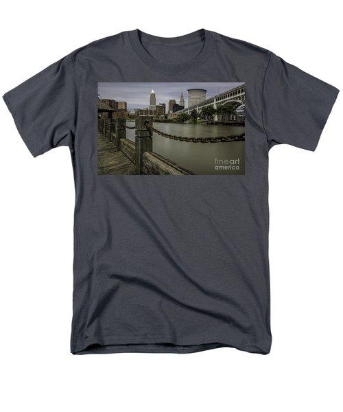 Cleveland Ohio Men's T-Shirt  (Regular Fit) by James Dean
