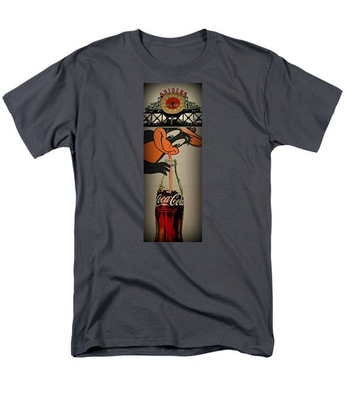 Coca Cola Orioles Sign Men's T-Shirt  (Regular Fit) by Stephen Stookey