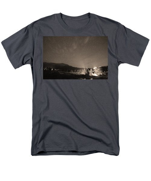 Colorado Chapel On The Rock Dreamy Night Sepia Sky T-Shirt by James BO  Insogna