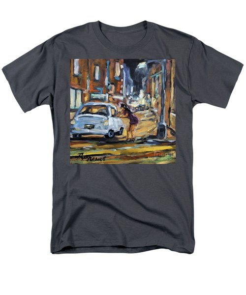 Corner Deal by Prankearts T-Shirt by Richard T Pranke