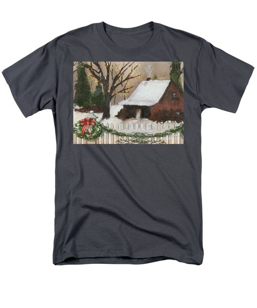 Cozy Cottage T-Shirt by Cheryl Young