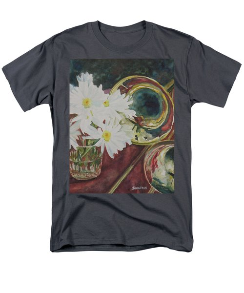 Daisies Bold As Brass Men's T-Shirt  (Regular Fit) by Jenny Armitage