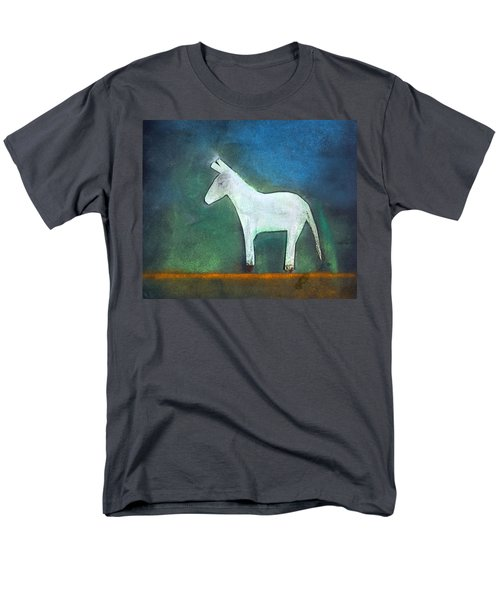 Donkey, 2011 Oil On Canvas Men's T-Shirt  (Regular Fit) by Roya Salari