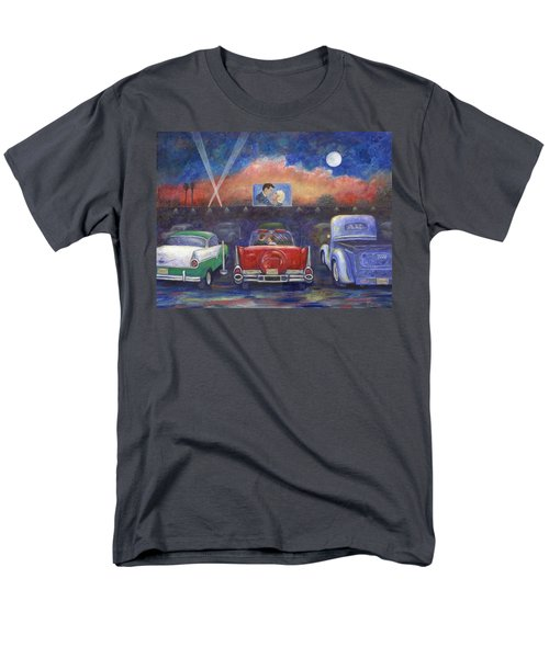 Drive-in Movie Theater T-Shirt by Linda Mears