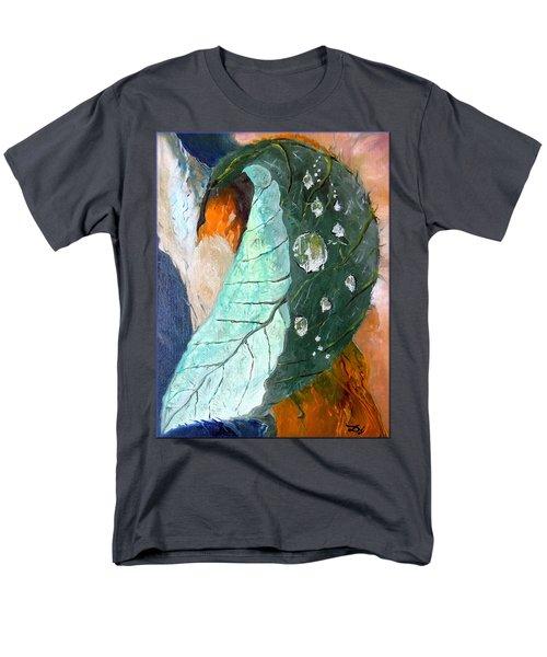 Drops on a leaf T-Shirt by Daniel Janda