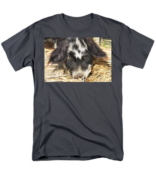Farm Pig 7D27361 T-Shirt by Wingsdomain Art and Photography