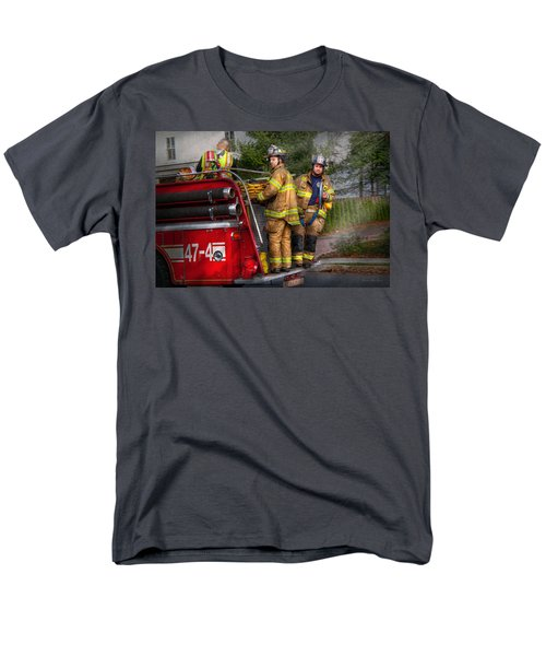 Firefighting - Only you can prevent fires T-Shirt by Mike Savad
