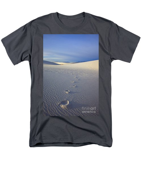 Footprints T-Shirt by Mike  Dawson