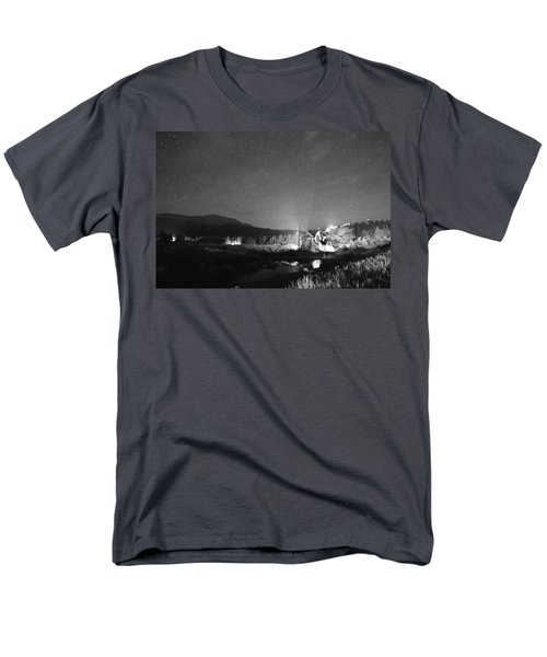Forest of Stars Above The Chapel on the Rock BW T-Shirt by James BO  Insogna