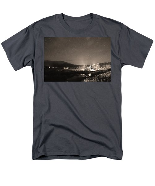 Forest of Stars Above The Chapel on the Rock Sepia T-Shirt by James BO  Insogna