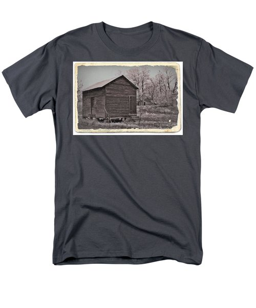 Frosty Morning Sepia 2 T-Shirt by Chalet Roome-Rigdon