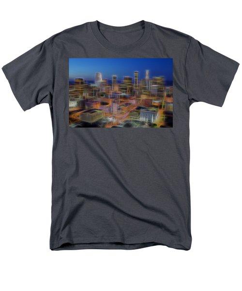 Glowing City Men's T-Shirt  (Regular Fit) by Kelley King