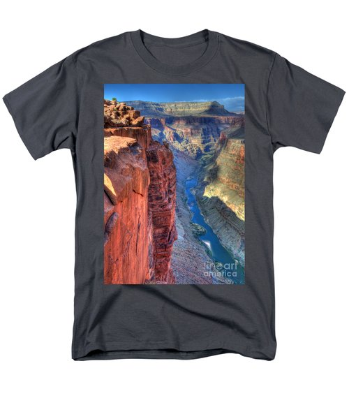 Grand Canyon Awe Inspiring Men's T-Shirt  (Regular Fit) by Bob Christopher