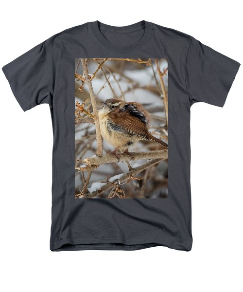 Grumpy Bird Men's T-Shirt  (Regular Fit) by Bill Wakeley