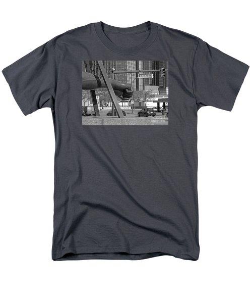 Homage to Joe Louis bw T-Shirt by Ann Horn