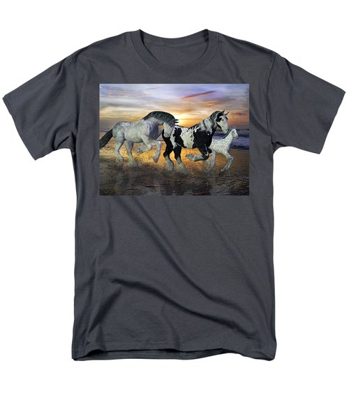 Imagination on the Run T-Shirt by Betsy C  Knapp