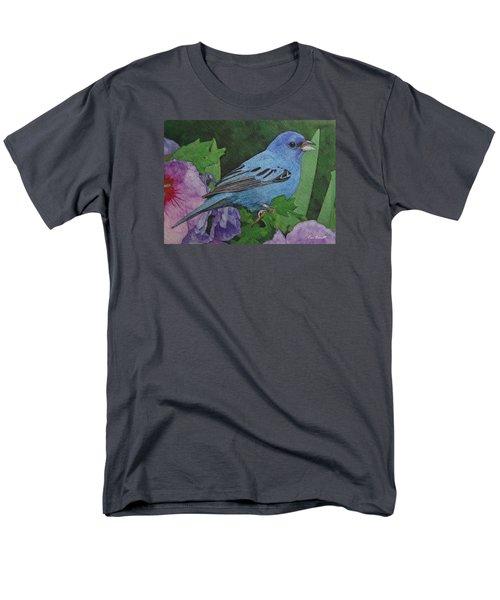 Indigo Bunting No 2 Men's T-Shirt  (Regular Fit) by Ken Everett
