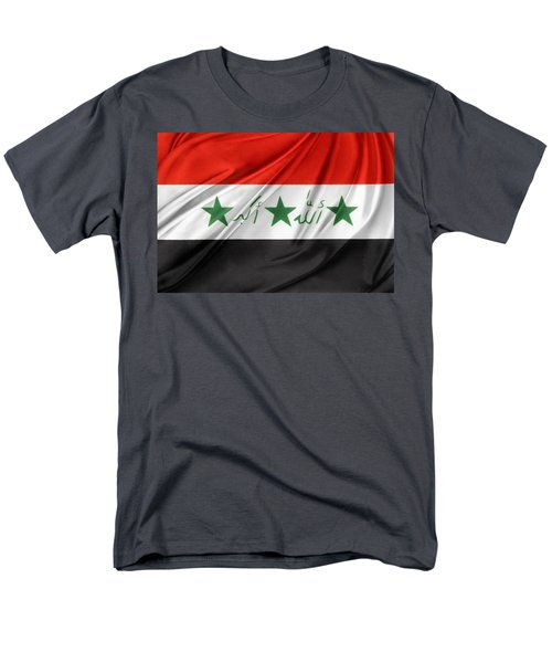 Iraq flag T-Shirt by Les Cunliffe