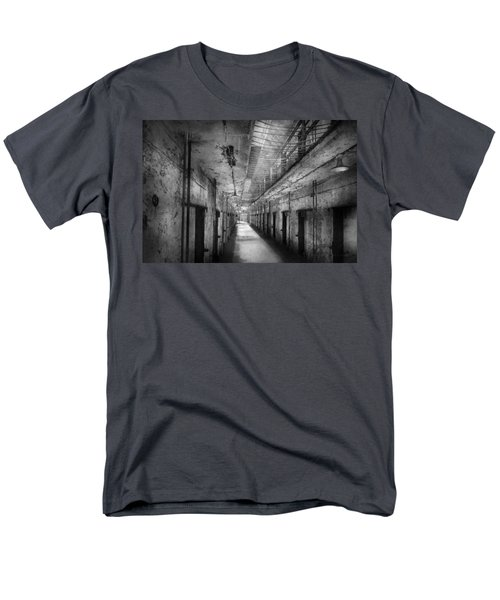 Jail - Eastern State Penitentiary - The forgotten ones  T-Shirt by Mike Savad