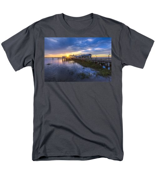 Jekyll Island Sunset T-Shirt by Debra and Dave Vanderlaan