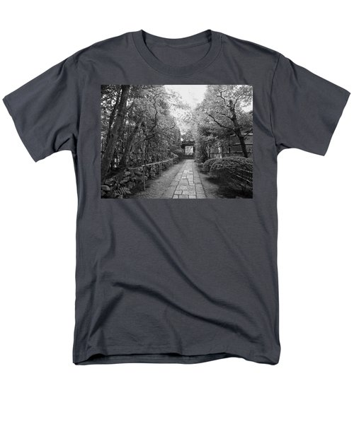 KOTO-IN TEMPLE STONE PATH T-Shirt by Daniel Hagerman