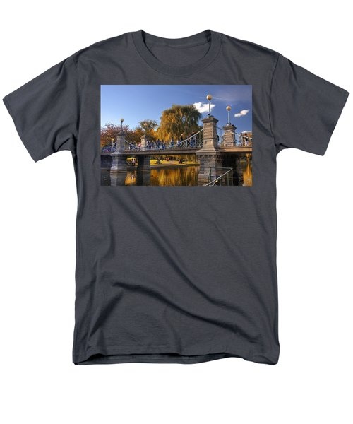 Lagoon Bridge in Autumn T-Shirt by Joann Vitali