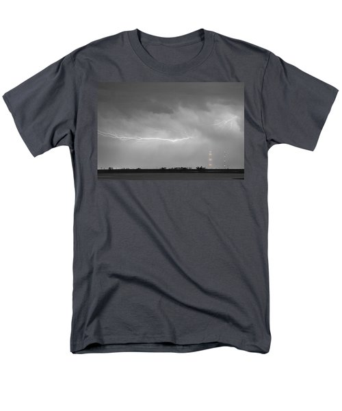 Lightning Bolting Across the Sky BWSC T-Shirt by James BO  Insogna
