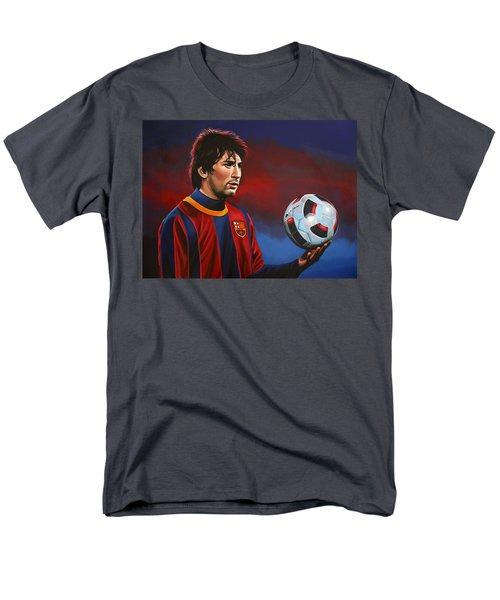 Lionel Messi  T-Shirt by Paul Meijering