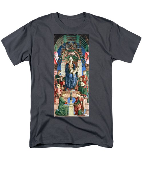 Madonna with the Child Enthroned  T-Shirt by Cosme Tura
