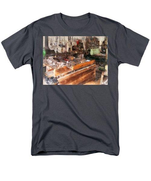 Metal Machine Shop T-Shirt by Susan Savad