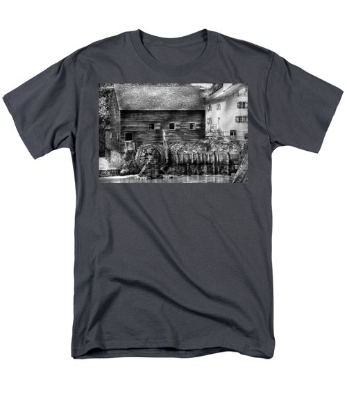 Mill - Sleepy Hollow NY - By the mill  T-Shirt by Mike Savad