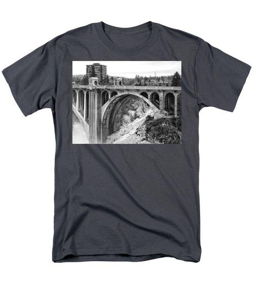 MONROE STREET BRIDGE ICED OVER - SPOKANE WASHINGTON T-Shirt by Daniel Hagerman
