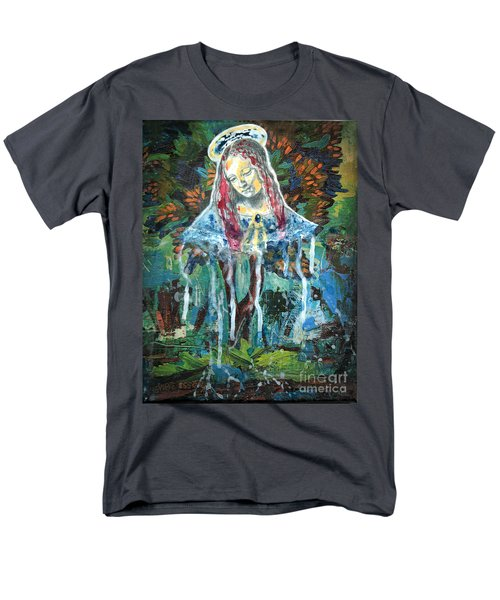 Monumental Tree Goddess T-Shirt by Genevieve Esson