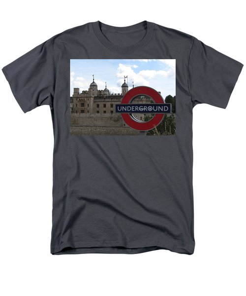 Next Stop Tower Of London Men's T-Shirt  (Regular Fit) by Jenny Armitage
