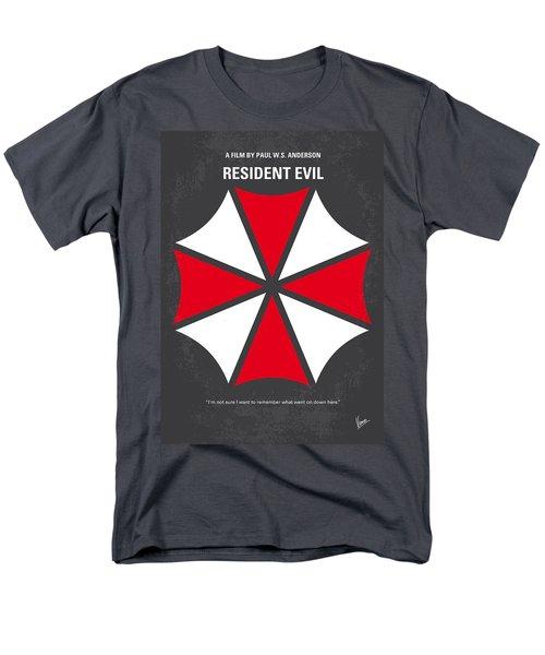 No119 My Resident Evil Minimal Movie Poster Men's T-Shirt  (Regular Fit) by Chungkong Art