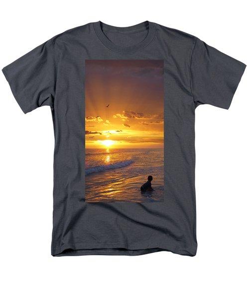 Not Yet - Sunset Art By Sharon Cummings T-Shirt by Sharon Cummings