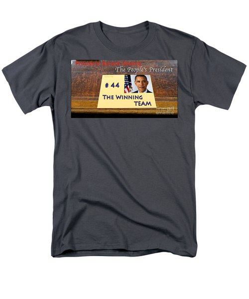 Number 44 - The Winning Team Men's T-Shirt  (Regular Fit) by Terry Wallace