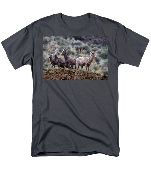 On the Ledge T-Shirt by Mike  Dawson