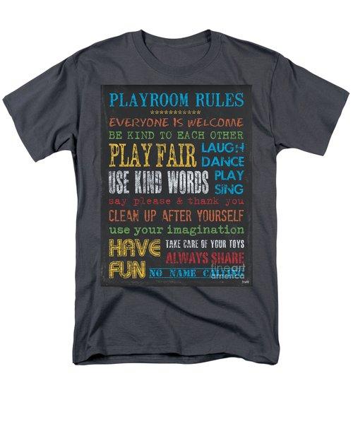 Playroom Rules T-Shirt by Debbie DeWitt