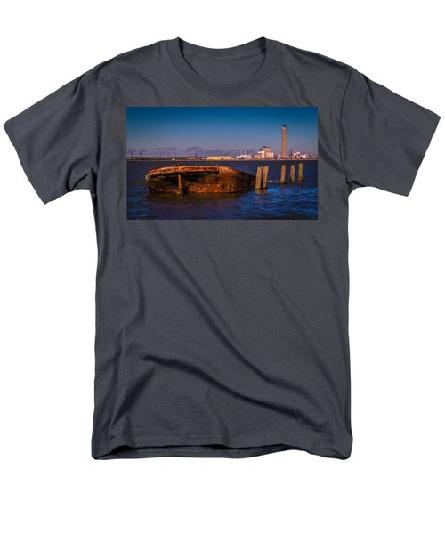 Riverside Wreck T-Shirt by Dawn OConnor
