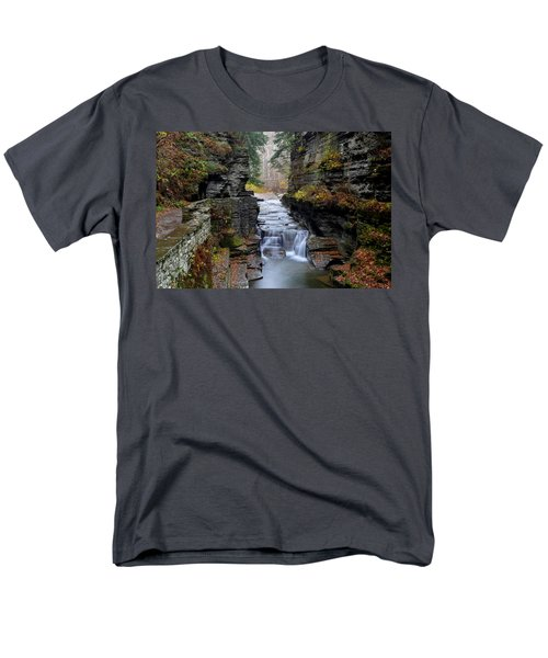 Robert Treman State Park T-Shirt by Frozen in Time Fine Art Photography